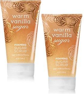 (Bath and Body Works 2 Pack Warm Vanilla Foaming Sugar Scrub 8 Oz.)
