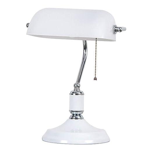 Lámpara de mesa, lámpara de escritorio de banquero antiguo ...