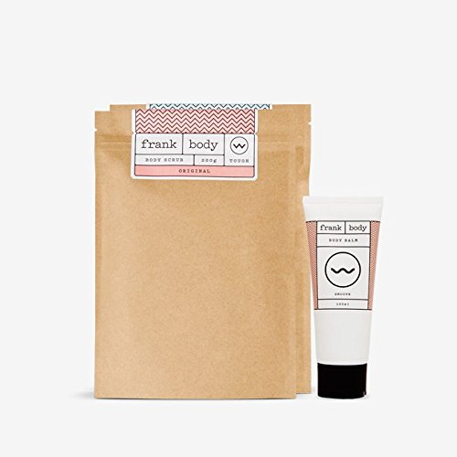 Mix and Match Frank Body gift set (with 1 x Original Coffee Scrub, 1 x Coconut Coffee Scrub & 1 x Body Balm)
