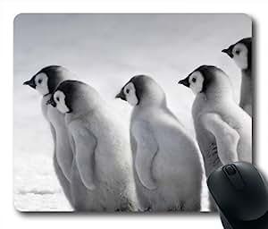 Emperor Penguin Cutr Childern Oblong Shaped Mouse Mat