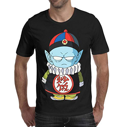 Men's Casual Short Sleeve Tshirts Crew Neck fit Top-Cartoon Character Art (Ghost In The Shell Arise Ghost Tears)