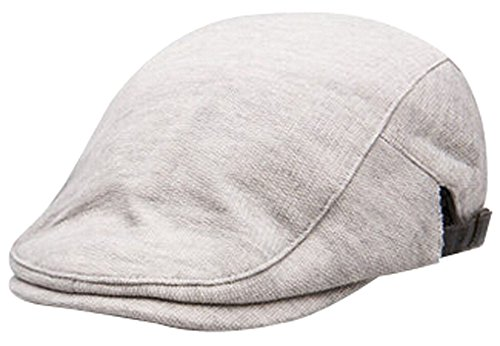 Alien Storehouse Pure Colour Thicken Hat Cap Men And Women Baseball Hat Fashion Cap Gray by Alien Storehouse