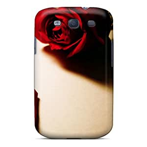 Fashion Protective Red Rose Case Cover For Galaxy S3