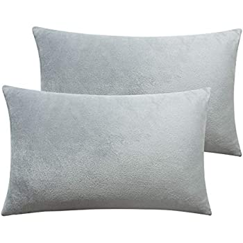 Amazon Com Zonk Micro Fleece Pillowcase With Zipper