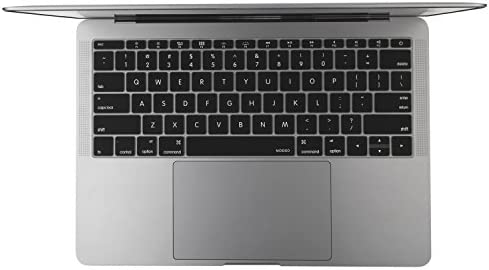 for MacBook Pro 13 A1708 for MacBook 12 A1534 Retina Us English Keyboard Cover Protector Skin-Purple 2017 Release No Touch Bar