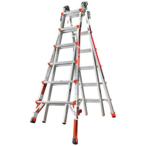 Little Giant Ladder Systems 12026-801 Revolution M26 with Ratcheting (Aluminum Ladder System)