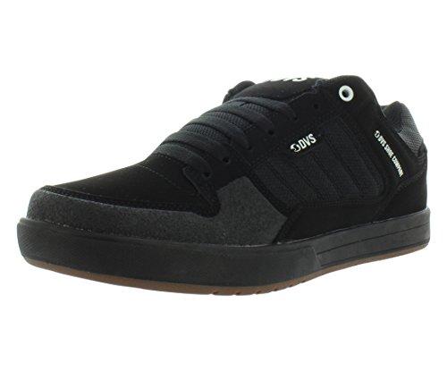 DVS Portal + Skateboarding Men's Shoes Size 12 Black/Grey