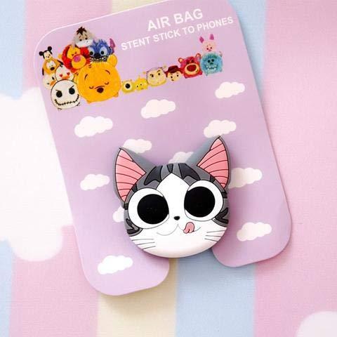 Big Eyed Kitty Phone Holder ()