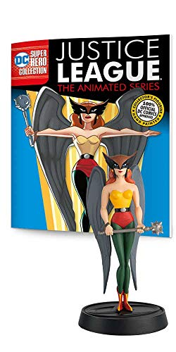(Eaglemoss DC Super Hero Collection: Justice League The Animated Series: #04 Hawkgirl Figurine, Multicolor,)