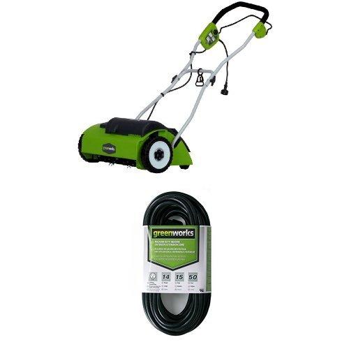 GreenWorks 27022 10 Amp 14'' Corded Dethatcher