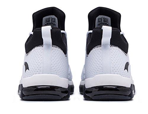 Onemix Kvinders Løbesko, Luft Pude Åndbare Sneakers Hvide
