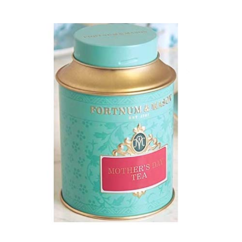 125g Loose Tea - Fortnum & Mason British Tea, Mother's Day 2019 Tea 125g Loose Tea in a Gift Tin Caddy (1 Pack) LIMITED EDITION - USA Stock