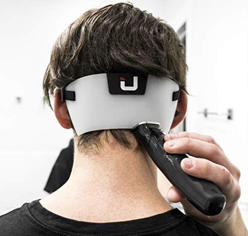 EdgUp 2.0 - Neckline Shaving Template and Hair Trimming Guide | DIY Hands-Free Cut, Trim, and Shave Use for Line Ups | Flexible Durable High-Grade Silicone