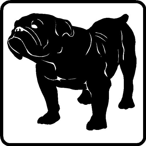 British Bulldog Car Decal Wall Stickers Graphics Art, 22