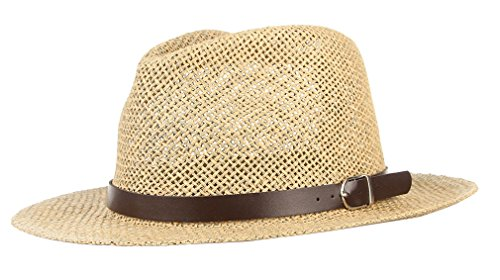 Gemvie Fedora Hat Foldable Trilby Short Brim Lightweight Crushable With Band