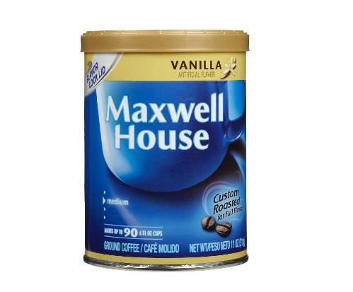 Maxwell House Vanilla Flavored Ground Coffee -6- 11 oz. cans