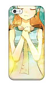 New Style vocaloid hatsune mikutwintails closed aqua Anime Pop Culture Hard Plastic iPhone 5/5s cases 3796665K402564570 by ruishername