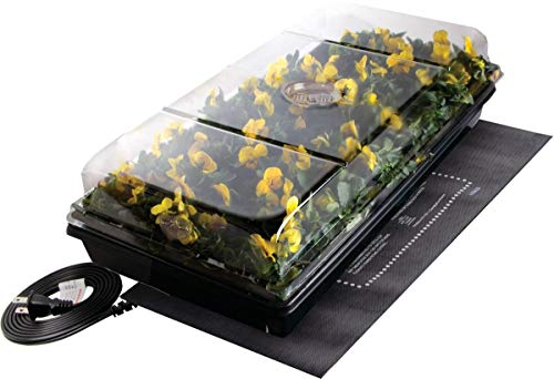 """Jump Start CK64050 Germination Station w/Heat Mat Tray, 72-Cell Pack, One size, 2"""" Dome"""