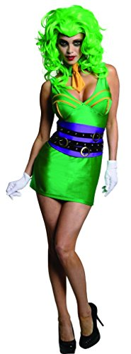 Super Villain Female Joker Adult Costume - Large (Female Joker Costumes Batman)
