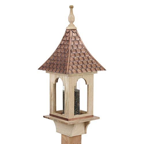 Good Directions BF101W Copper Shingled Roof Bird Feeder