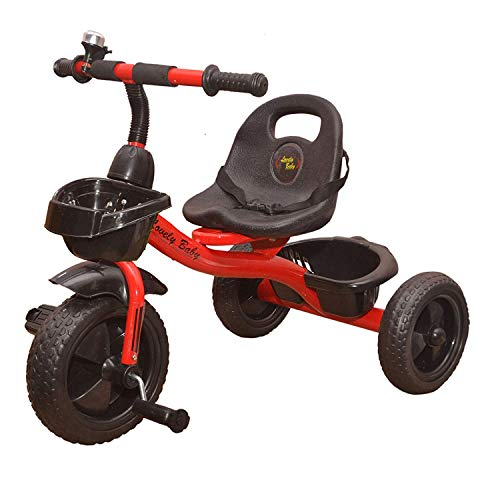STEPUPP Kids Musical Tricycle  Red, 1 5 Years