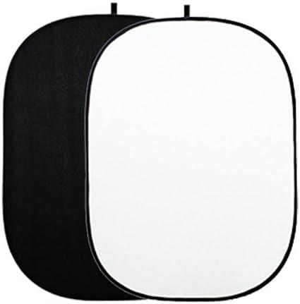 Quenox Falthintergrund 150 X 200 Cm 2 In 1 Schwarz Weiß Kamera