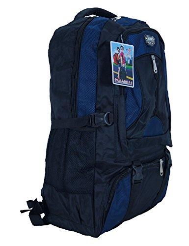 Wanderrucksack Trekkingrucksack Rucksack Sports Zipper schwarz dunkel blau Fa. Bowatex
