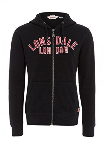 Lonsdale London Uomo Maglieria / Hoodies con zip Camelford