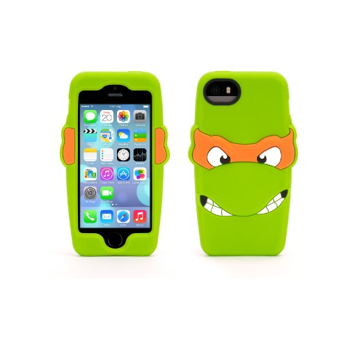 Michelangelo Teenage Mutant Ninja Turtles Silicone Case for iPhone 5/5s
