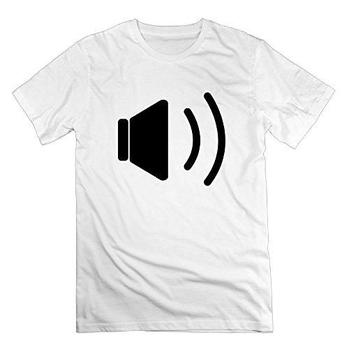 Thelover8 Men's Sound F1 T-Shirt - M White