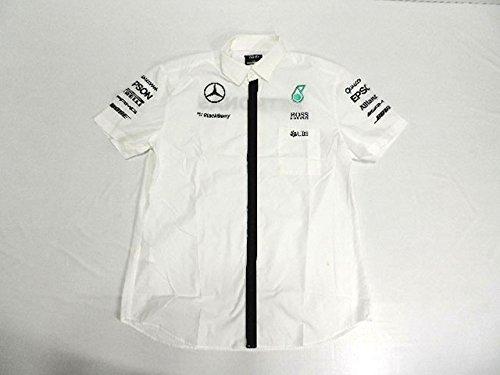 お手頃価格 メルセデス 2015年 M 支給品 後期版 ピットシャツ M 2015年 後期版 4/5 B01ICR31EE, バラエティ本舗:ccc8af1b --- ballyshannonshow.com