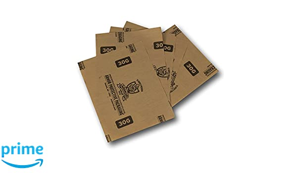 Armor Protective Packaging A30G1212 VCI Paper Prevents Rust Corrosion On Ferrous and Non-Ferrous Metal Blue Pack of 1000 12 X 12 Sheet