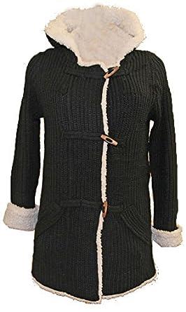Veste en laine fourre femme