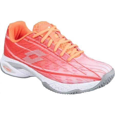 Lotto Zapatilla pádel Mirage 300 Cly Woman. 210740 Coral/White. Talla 40