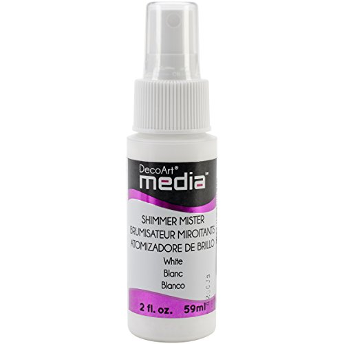 DecoArt Media Acrylic Mister, 2-Ounce, Titanium White