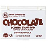 : Center Enterprise CE031 Chocolate Scented Stamp Pads, Brown