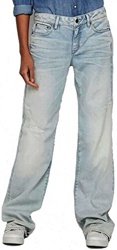 Jeans STAR Aged G Bleu Blue Femme RAW Light T8wxP7