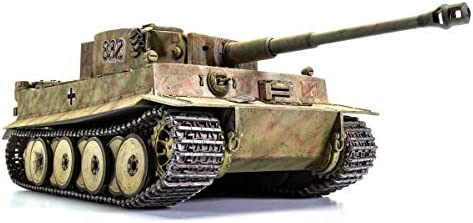 Airfix Tiger I Early Version 1:35 WWII Military Tank Armor Plastic Model Kit A1363