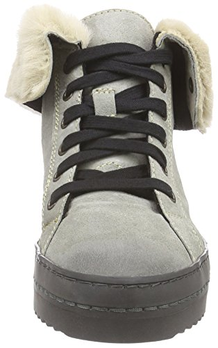 Boot Olli Manas Women's Distressed Suede Nero Fumo zqrIq5