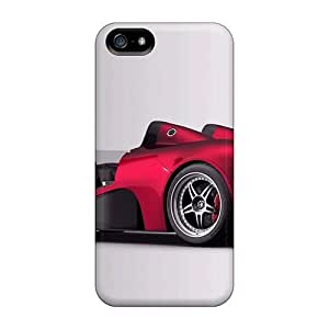 MeSusges Iphone 5/5s Well-designed Hard Case Cover Tesla P 538 Protector