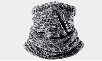 Damen Herren Schlauchschal Halstuch Halswärmer Fleece Warm Winter dicker Schal
