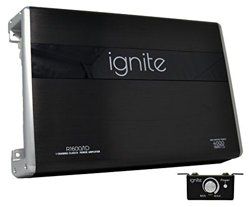 Mono Amp Class (Ignite Audio Mono Block Class D Car Amplifier 4000 Watts Peak Power)