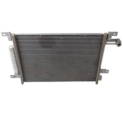 Brock A/C AC Condenser Assembly Replacement for 10-14 Ford Mustang Shelby GT500 GT ST Coupe or Convertible fits AR3Z19712A BR3Z19712A CR3Z19712A