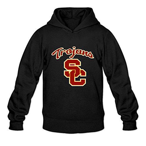 Oryxs Men's USC Trojans Sweatshirt Hoodie L Black