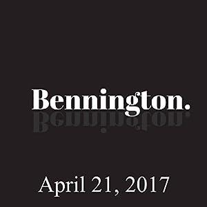 Bennington, April 21, 2017 Radio/TV Program
