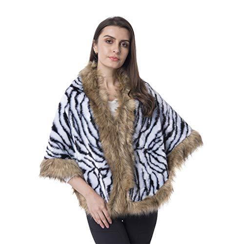 White Black Zebra Pattern...