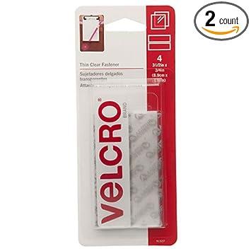 VELCRO Brand jwjVMA Sticky Back 3 1/2 x 3/4 Strips, 4