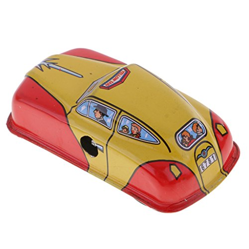 in Toys Blue Taxi Car Model with Wind Up Key Collectible Toys Gifts (Model Vintage Toy Tin)