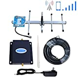 Phonelex Cell Phone Signal Booster Verizon 4G LTE Band13 700Mhz Cell Phone Booster Verizon Mobile Phone Signal Booster Cell Signal Amplifier Repeater with Indoor Whip+ Outdoor Yagi Antennas for Home