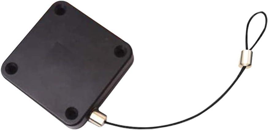NAYUKY Más Cerca de la Puerta automática del Sensor Frente Puerta corredera Puerta telescópica retráctil Más Cerca, Negro